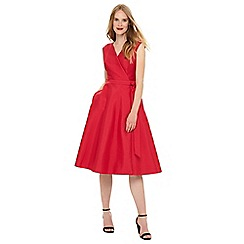 Phase Eight - Raspberry Estelle fit & flare dress