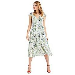 Phase Eight - Cream Flavia Printed Dress