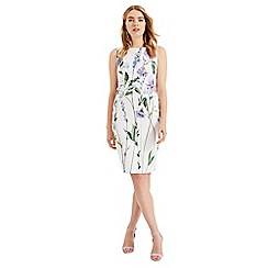 Phase Eight - White May Stem Flower Cotton Dress