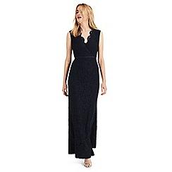 Phase Eight - Blue Paola lace fishtail dress