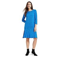 Phase Eight - Blue umbrella print dress