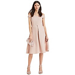 Phase Eight - Pink Corali Cold Shoulder Dress