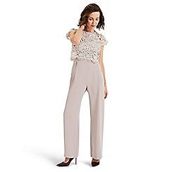 Phase Eight - Cream Katy lace jumpsuit