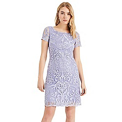 Phase Eight - Purple Natalia Embroidered Dress