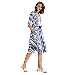 Phase Eight - Blue Willa Stripe Dress