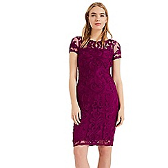 Phase Eight - Purple Sheena Tapework Dress