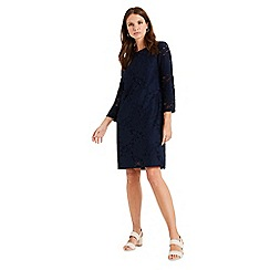 Phase Eight - Blue Kacie Lace Tunic Dress