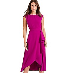 Phase Eight - Bright Plum Rushelle Dress