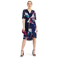 Phase Eight - Blue Serefina Abstract Dress