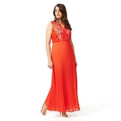 Studio 8 - Sizes 12-26 Orange pomona dress