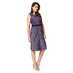 Studio 8 - Sizes 12-26 Purple brooklyn dress