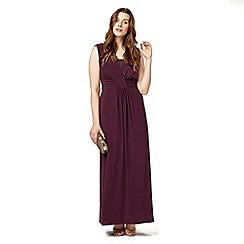 Studio 8 - Sizes 12-26 Purple daphne dress