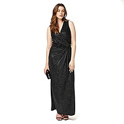 Studio 8 - Sizes 12-26 Silver tilly maxi dress