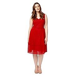 Studio 8 - Sizes 12-26 Red bailey dress