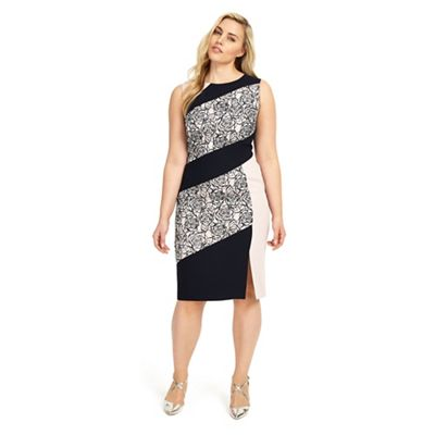 4c33ec15d8e26 Studio 8 Sizes 12-26 Victoria Dress   Debenhams