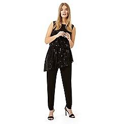 Studio 8 - Black bronte sequin jumpsuit