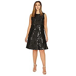 Studio 8 - Sizes 12-26 Black elektra dress