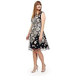 Studio 8 - Sizes 12-26 Navy charlotte dress