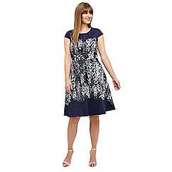 Studio 8 - Sizes 12-26 Blue multi-coloured marissa floral dress