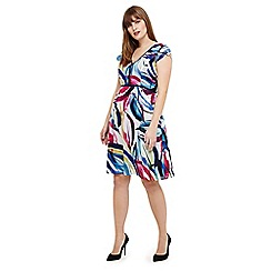 Studio 8 - Sizes 12-26 Multicoloured sienna dress