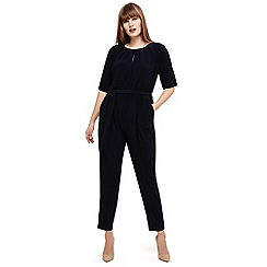Studio 8 - Sizes 12-26 Blue nadine split sleeves jumpsuit