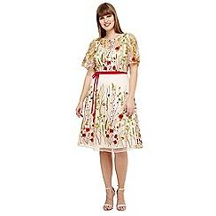 Studio 8 - Sizes 12-26 Richmond embroidered dress