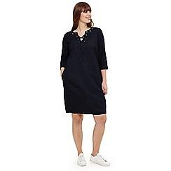 Studio 8 - Sizes 12-26 Blue mabel denim dress