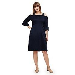 Studio 8 - Sizes 12-26 Blue giana dress