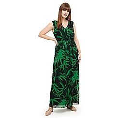 Studio 8 - Sizes 12-26 Green lana maxi dress