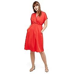 Studio 8 - Size 12-26 Orange andrina tunic dress