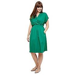 Studio 8 - Size 12-26 Green andrina tunic dress