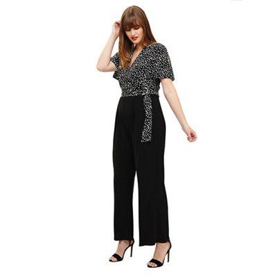 8e64ac7661c Studio 8 Sizes 12-26 Luna spot jumpsuit