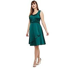 Studio 8 - Size 12-26 Green matilda dress