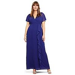 Studio 8 - Sizes 14-26 Violet phoenix maxi dress