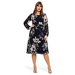 Studio 8 - Sizes 14-26 Elise floral dress