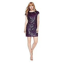Damsel in a dress - Aubergine savannah sequin dress