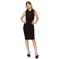 Damsel in a dress - Black penny pleated dress