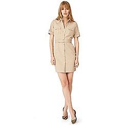 Damsel in a dress - Natural fia safari dress