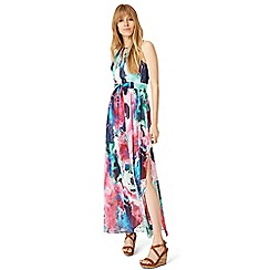 Damsel in a dress - Multicoloured amazon print maxi dress
