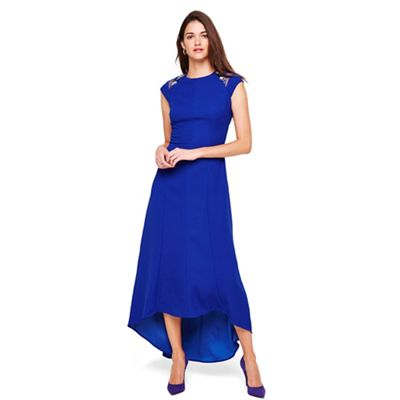 aa0cadff Damsel in a dress Cobalt deniz embellished shoulder maxi dress | Debenhams