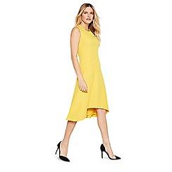 Damsel in a dress - Yellow camilla sleeveless dress
