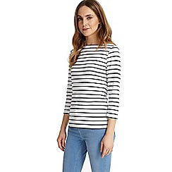 Phase Eight - Navy and white Stella stripe top