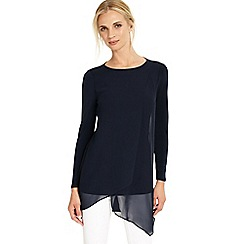 Phase Eight - Navy vinny long sleeve tunic