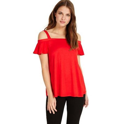 Phase Eight   Fiona Frill Bardot Top by Phase Eight