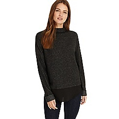 Phase Eight - Charcoal Serena snuggle jumper