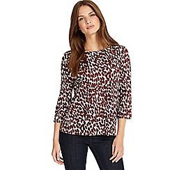 Phase Eight - Brick and Ivory sara spot top