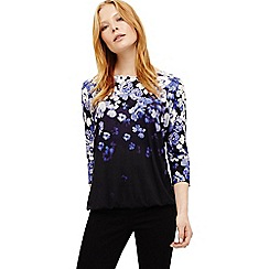 Phase Eight - Blue frankie floral print top