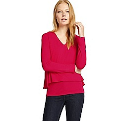 Phase Eight - Pink dee double layer top