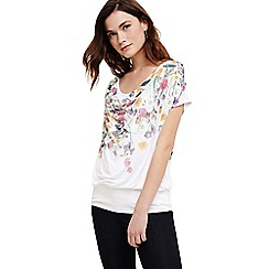 Phase Eight - Cream anneke floral print top