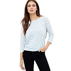 Phase Eight - Blue carrah stripe top